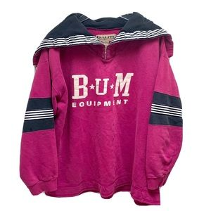 Rare!! BUM Equipment VTG 90s Sweatshirt Size M